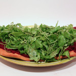 Ruccola Pizza – vegetarisch