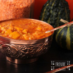 Kürbis Dhal – Feuerlinsen Kürbis Curry