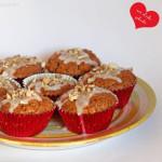 Kürbis Walnuss Muffins