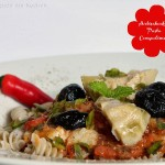Pasta ai Carciofi – Pasta mit Artischocken – vegetarisch