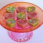 Himbeer-Schokolade & Matcha-Schokolade