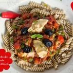 Paprika Artischocken Pastasauce – vegetarisch