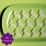 Kokos Schokolade Osterhasen vegan
