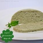 Zitronenmelissen- oder Kräuter-Mozzarella selbermachen – vegan