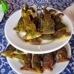 Pikantes Blätterteiggebäck – vegetarisch