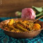 Aloo Phalli – Fisolen (Grüne Bohnen) Kartoffel Gemüse indisch- #iloveindianfood #vegan