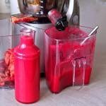 Birnen Rote Rüben Süßkartoffel Juice plus Entsafter Test