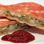 Bombay Aloo Masala Toast – Kartoffel Sandwich mit Tofu