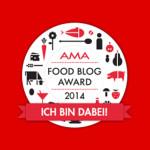 AMA Foodblog Award 2014 – Wir sind dabei