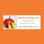 Kürbirne – Kürbis küßt Birne – Blogevent der veganen österreichischen Foodblogger #kuerbirne