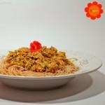 Spaghetti mit Kürbis-Kräuter-Sauce