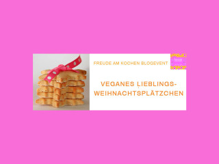 Blogevent Vegan Weihnachtskekse