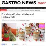 Freude am Kochen auf Gastro News Wien
