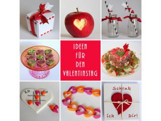 Valentinstag Rezepte DIY Deko
