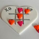 Valentinstag  DIY: Herz Tic Tac Toe