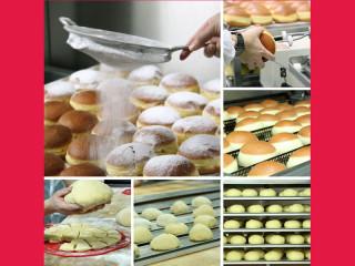 Bäckere Szihn Krapfen backen