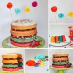 Faschings-Torte Nakedcake