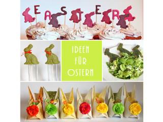 Ostern - DIY - Rezepte vegan - Ideen