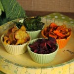 Gemüse Chips im Airfryer