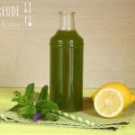 Kräuter Drink mit Weizengras & Moringa