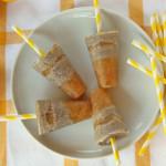 Rhabarber Chia Popsicles