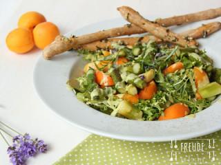 Spargel Marillen Salat