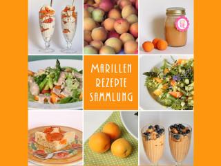 Marillen Rezepte Sammlung vegan