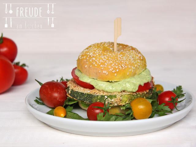 Zucchin Schnitzl Burger