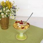 Hirse oder Buchweizen Porridge