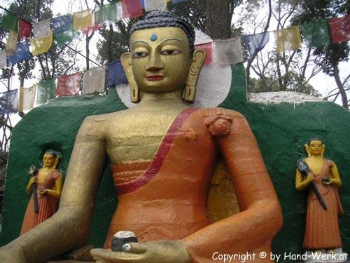 Swayambunath-Stupa-Figur-co