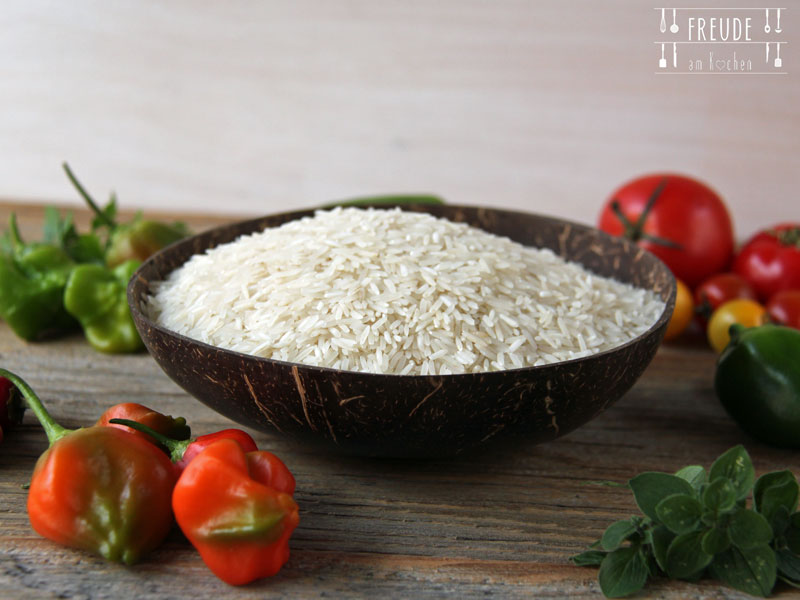 Zucchini Biryani - Indischer Zucchini Reis - Freude am Kochen
