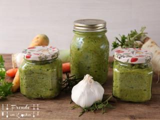 Gewürzpaste Gemüsebrühe - Suppen Grundstock - vegan - Freude am Kochen