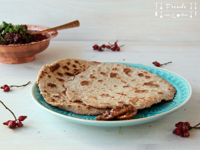 Indische Cahapti - Freude am Kochen