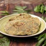 Spinat oder Bärlauch Paratha