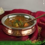 Jatinder´s Sambar – südindische Gemüsesuppe