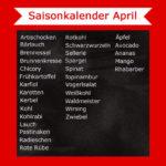 Saisonkalender April – Welches Gemüse & Obst hat Saison?