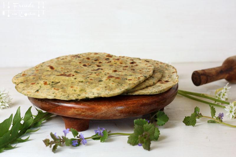 Chapati Ausrollbrett & Ausroller - Freude am Kochen