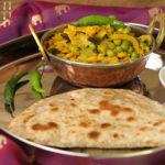 Chinakohl Erbsen Gemüse – indisch