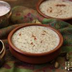 Indischer Sago Pudding – Sabudana Kheer