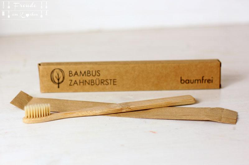 Bambus Zahnbürste - Freude am Kochen vegan
