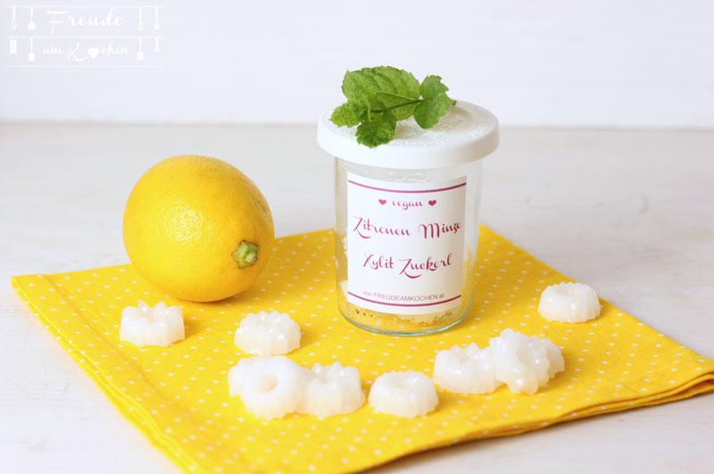 Pfefferminz Zitronen Xylit Zuckerl - Freude am Kochen vegan