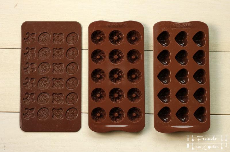 Silikon Bonbon und Schokoladenform - Freude am Kochen vegan