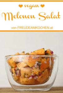 Zucker Melonen Salat - Freude am Kochen vegan