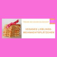Blogevent - Vegane Weihnachtsplätzchen Rezepte